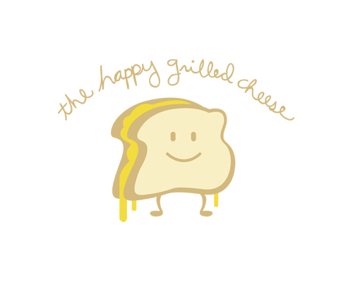 The Happy Grilled Cheese